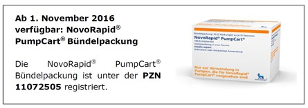 novorapid pumpcart