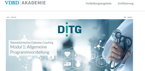 Bild zu VDBD - TeLiPro: Telemedizinisches Diabetes-Coaching bei Typ-2-Diabetes